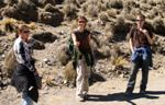 Justyna, Naomi a Brian vo vrchoch nad Potosí