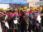 Slávnostný sprievod v Uyuni