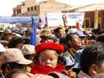 V bolívijskej manifestácii